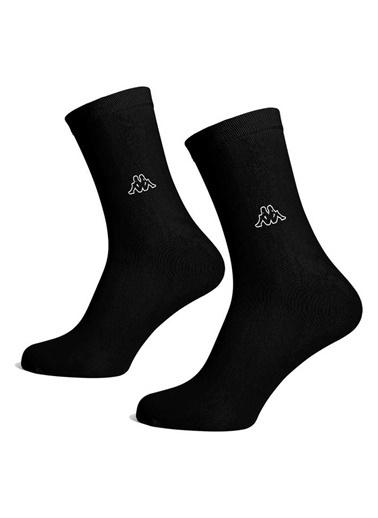 Kappa 2'li Çorap Siyah